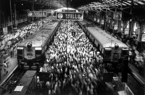 Churchgate Station. Bombay SSalgado