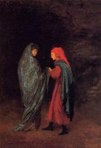 Dante -Virgil Entrance Hell (1857) E.Degas