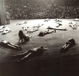 Living Theatre 1968 performance Paradise Now- Yale