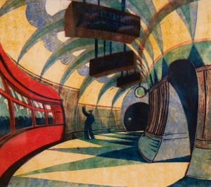 Cyril Power, Tube Station1932