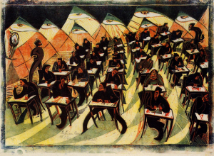 CYRIL POWERS- EXAM ROOM1934