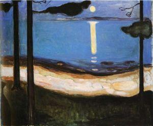 edvard-munch-moonlight