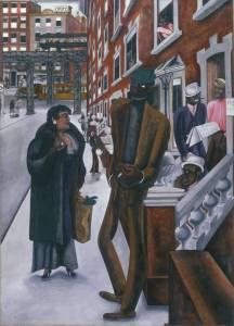 Harlem 1934.Edward Burra 1905-1976