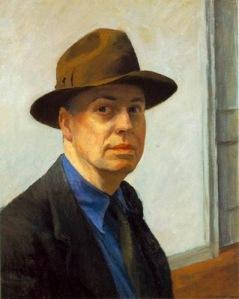 Edward Hopper, Self-portrait1930