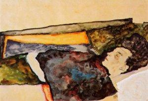 egon-schiele-the-artist-s-mother-sleeping