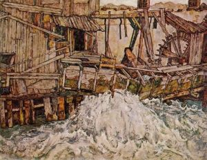 egon-schiele-the-mill