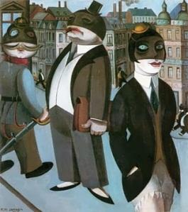 Franz Jansen, Masken1925