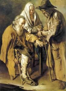 Giacomo Ceruti – Beggars (1736)