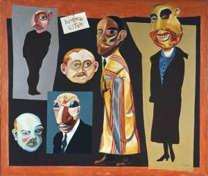 Hannah Höch- The Journalists1925