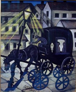 Hugó Scheiber, Carriage at Night1930