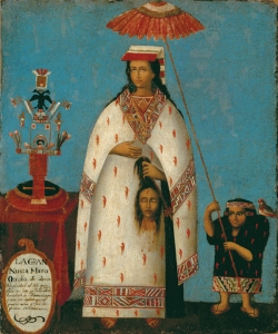 Inca Noblewoman.Cuzco.Peru1800s