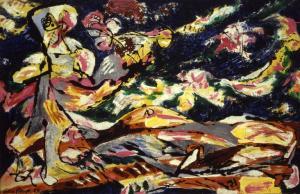 Jackson Pollock1953
