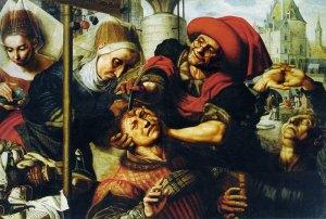 Jan van Hemessen - Operation stone of folly