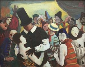 Karl Hofer, Grosser Karneval1928