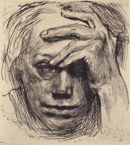 Kathe Kollwitz, Self1934
