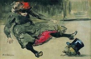 Kees van Dongen .Buveuse d'absinthe1902