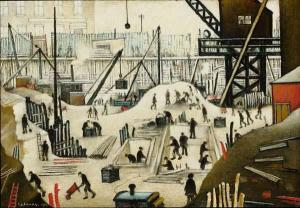 LAURENCE STEPHEN LOWRY R.A. (1887-1976)