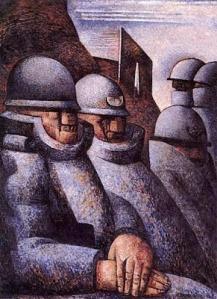 Marcel Gromaire-La guerre.War1925
