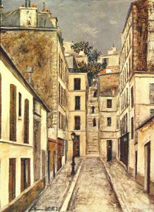 Maurice Utrillo.passage-deadend