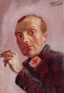 Max Beckmann Self1915