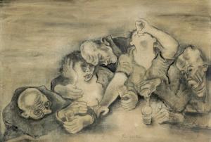 Michel Fingesten- Drinkers1919