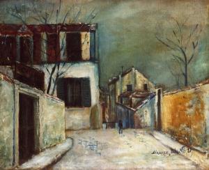 mont-cenis-street-Maurice Utrillo