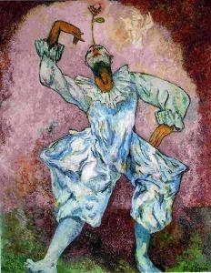 Pablo Picasso, Harlequin1905