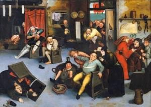 Pieter Elder Bruegel, Cutting Out Stone of Madness1568