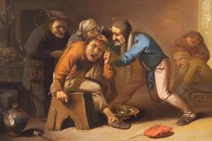 Pieter Quast (1605-1647) stone folly