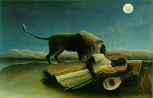 Rousseau-SleepingGypsy