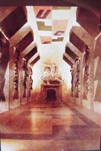 Sironi.galleria.fascist.italy1932