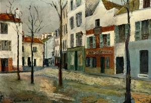 Square Tertre Montmartre - Maurice Utrillo
