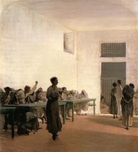 Telemaco Signorini, Mad House Florence1865