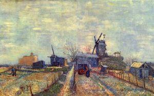 Vincent van Gogh Vegetable gardens Montmartre