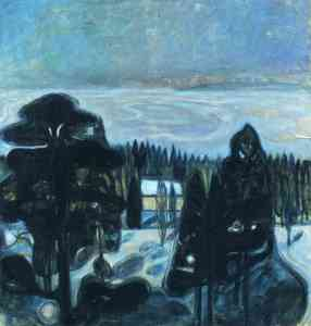 white-night-1901 Edvard Munch