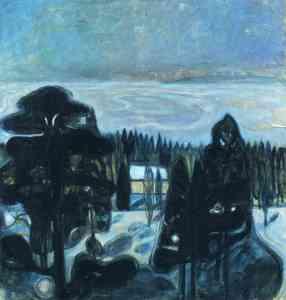 white-night-1901 Edvard Munch