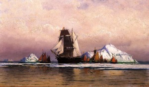 william bradford-Fishing_Fleet