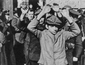 1934.Surrender last socialist Schutzbund fighters
