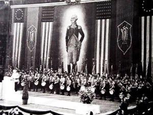 1939 Madison Square Garden Nazi Party In America