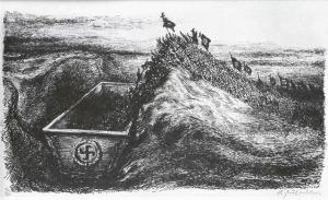 A. Paul Weber-The Doom1932