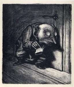 A. Paul Weber- The Informer1934