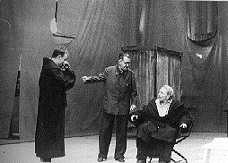 b.brecht-1956 rehearsal Galileo theater Reinhartstrasse