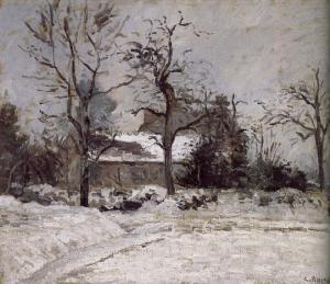 Camille Pissarro.winter