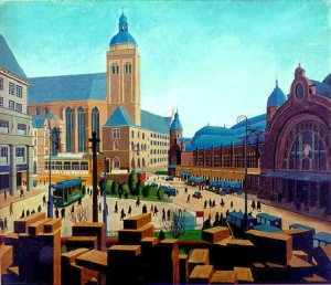 Carl Grossberg, Central Station Cologne1927