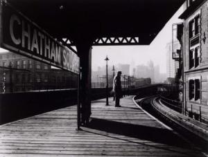 Chatham Square Platform.NY1939