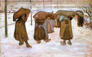 Coal bearing women -Van Gogh