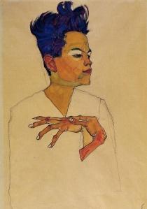 Egon Schiele - Self