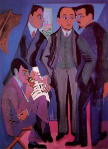 Ernst Ludwig Kirchner.theBridge1905