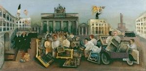 Felix Nussbaum-Fantastic Square1931