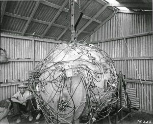 Gadget first atomic bomb1945